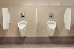 Urinals Stock Photography