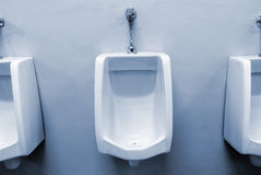 Urinals Stock Photo
