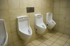 Urinals Royalty Free Stock Photos