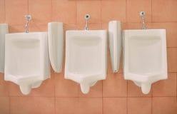 urinals fotografia stock