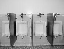 Urinals Stockfotos