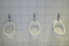 Urinals at Museum of Modern and Contemporary Art, Nice, France Stock Image