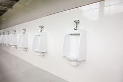 Urinals in the open air Royalty Free Stock Photo