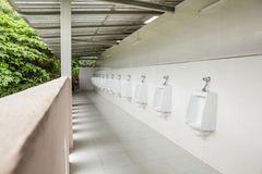 Urinals in the open air Royalty Free Stock Images
