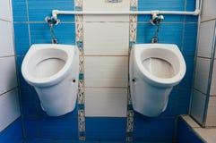 Urinals  Stock Image