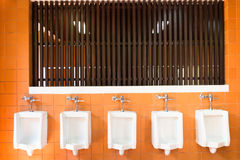 Urinals Stock Image