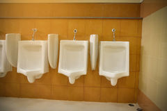 Urinals Royalty Free Stock Photo