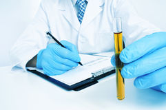 Urinalysis Royalty Free Stock Images