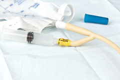 Urinary Catheter Fill Stock Images