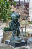 Urinating Boy Statue Royalty Free Stock Photos