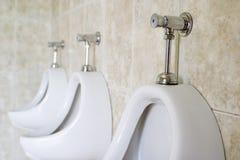 Urinaux Images libres de droits