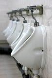 Urinaux publics photographie stock