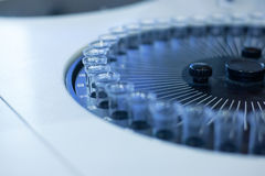 Urine analysis instruments, Royalty Free Stock Image