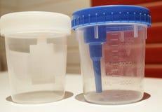 Urine prélevée stérile Photo libre de droits