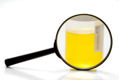 Urine Sample Royalty Free Stock Images
