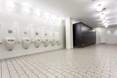 Urinoir et toilette Photo stock