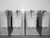 Urinoirs stock foto's