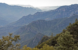 Urique Canyon in Chihuahua. Urique Canyon in the Copper Canyon region, Chihuahua, Mexico Stock Image