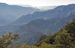 Urique-Schlucht in den Chihuahua Stockbild