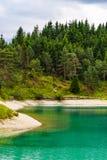 Urisee nära Reutte, Tirol, Österrike Royaltyfria Foton