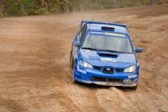 Uriy Volkov drives a Subaru Stock Image