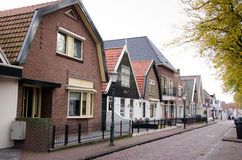 Urk Island. A corner of the island of Urk, Netherlands Royalty Free Stock Images