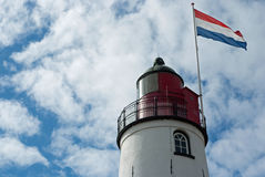 Urk Lighthouse Stock Images