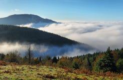 Urkiola naturalnego parka krajobraz w Hiszpania obraz royalty free