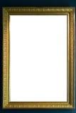 Urklipp för mellanrum för Art Museum Frame Vintage Ornate målningbild fotografering för bildbyråer