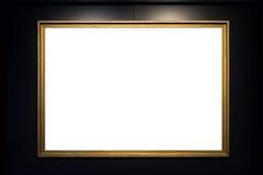 Urklipp för mellanrum för Art Museum Frame Vintage Ornate målningbild Royaltyfria Bilder