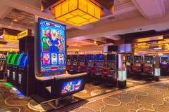 ` Urknalltheorie ` Spielautomat bei Mgm Grand Detroit lizenzfreies stockbild