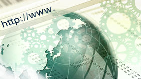 URL address bar Stock Photography