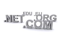 Url domains Royalty Free Stock Photos