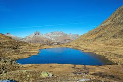Urlaun See Oberalbpass stock photography