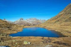 Urlaun Widzii Oberalbpass fotografia stock