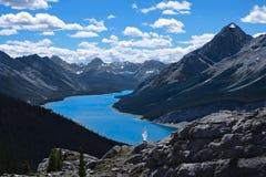 Urlopowa podróż w Kanadyjskich Skalistych górach w lecie zdjęcia royalty free