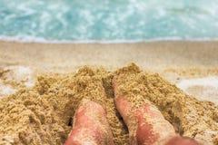 Urlopowa wakacje letni plaża Fotografia Stock