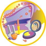 urlopowe kosmetyk kobiety Obraz Royalty Free