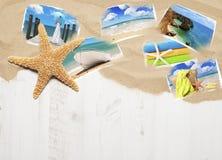 Urlopowe pocztówki Fotografia Royalty Free