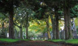 Urmston kyrkogård arkivbilder