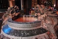 Urn da cinza do incenso Fotografia de Stock