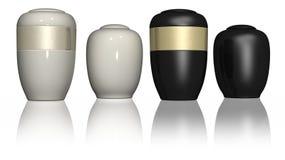 Urn do funeral - isolado Imagem de Stock