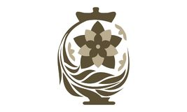 Urn Ewer Store. Logo Design Template Vector Stock Photos