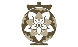 Urn Ewer Store. Logo Design Template Vector Royalty Free Stock Image