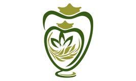 Urn Ewer Store. Logo Design Template Vector Royalty Free Stock Photos