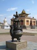 Urn at Gandan Khiid Monastery Royalty Free Stock Photography