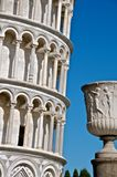 Urn and Leaning Tower of Pisa Stock Image