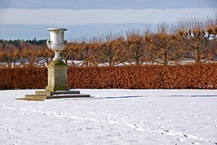 Urn in park royalty-vrije stock fotografie