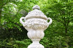 Urn sculpture Stock Photography