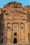Urn Tomb in Nabatean city of  Petra Jordan Royalty Free Stock Photo